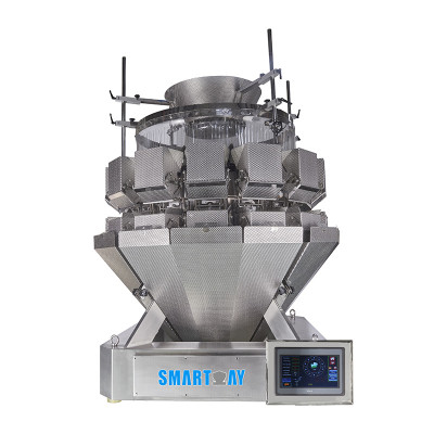 Large 14 Head Salad Multihead Weigher Salad Weighing Scale