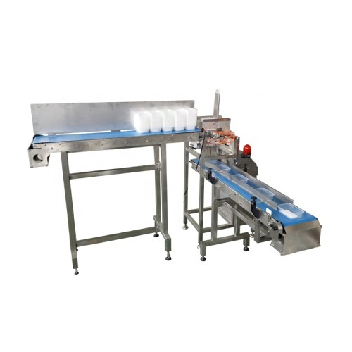 Automatic Feeding and Filling Tray Denester Tray Packing Machine Bowl Packing Machinery