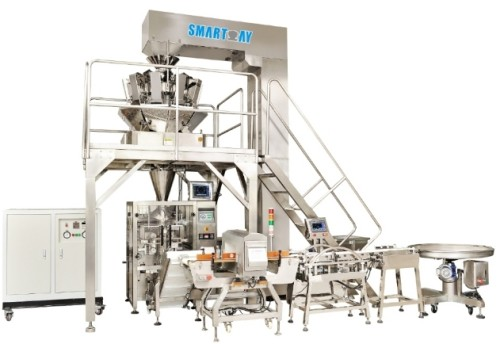 Hard candy warp candy double twisted candy packing machine candy filling packaging machine