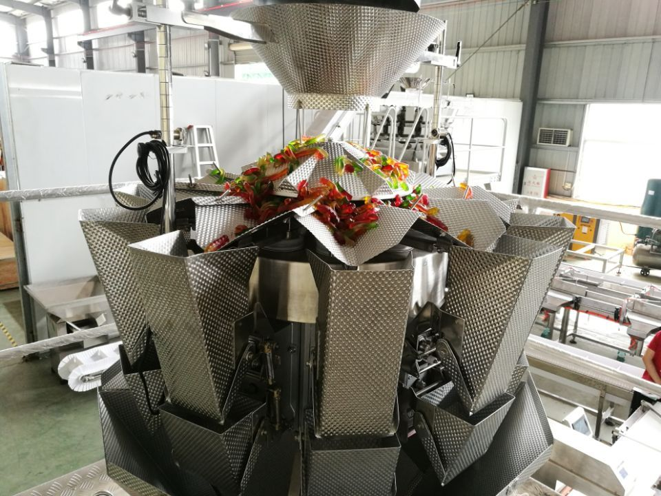 jelly candy packing line