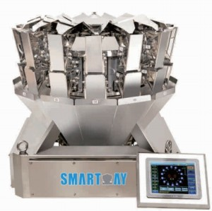 Mini 10/14 Head Multihead Weigher Weighing Scale Small Scale Weigher 0.5L Multihead Weigher