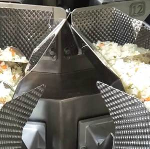 14 Head Screw Multihead Weigher Fried Rice Packing Machine