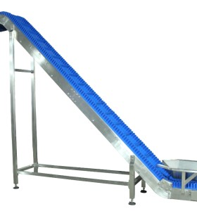 Blue belt food grade conveyor incline conveyor