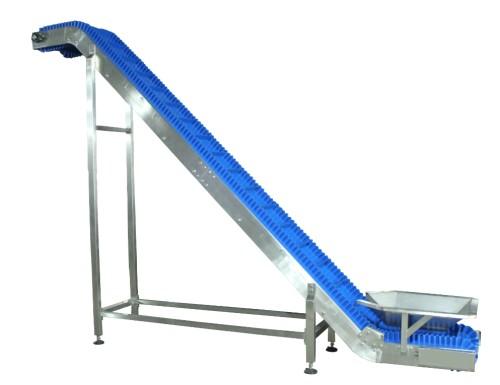 Blue belt food grade conveyor incline conveyor