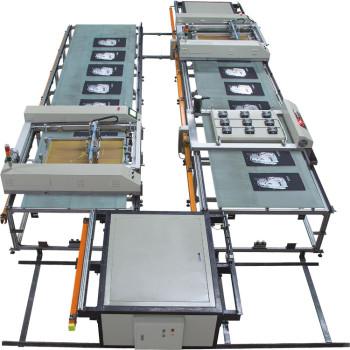 SPT Automatic Flatbed Silk Screen Machine