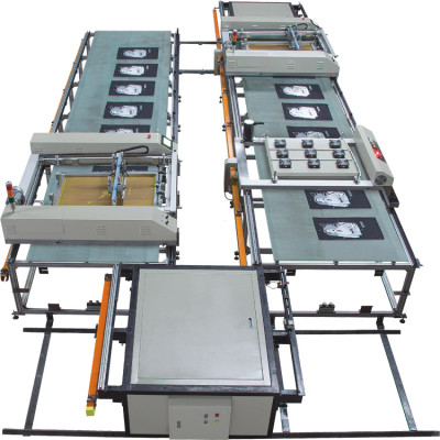 SPT  Fully Automatic Flatbed Screen Printing Machine/Printing Machine For T-shirt
