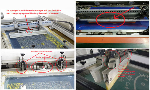 SPT Automatic Flatbed Screen Printer  In China