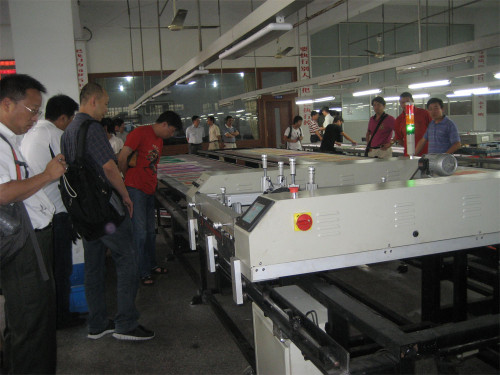 SPT Automatic Flatbed T-shirt Screen Printer