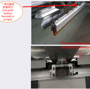 SPO Automatic Oval Screen Printer for clothes