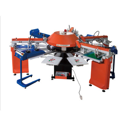 SPG automatic textile screen printing machine for T-shirt