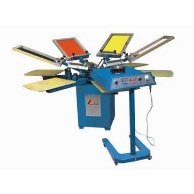 SPM Series 6 Colors Manual Textile Screen Printing Machine