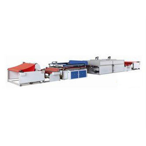 Automatic Roll to roll screen printing machine nonwoven