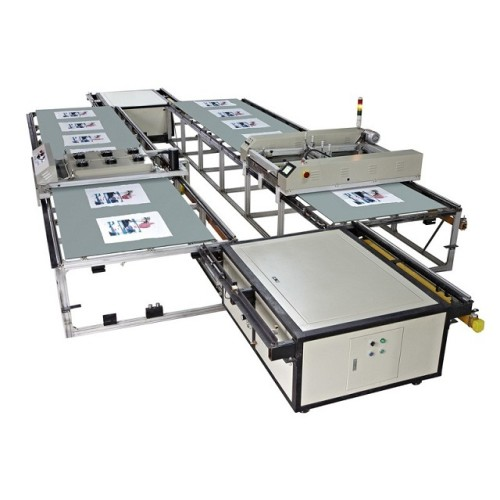 SPT Automatic Flatbed Screen Printing Machine