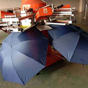 SPF Umbrella screen printing machine equipment