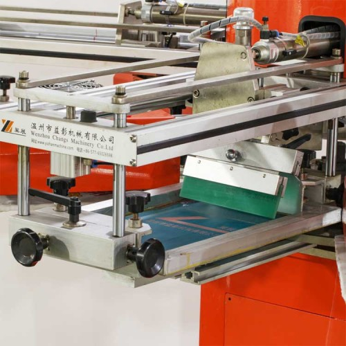 SPF socks pcb label rotary automatic screen printing machine