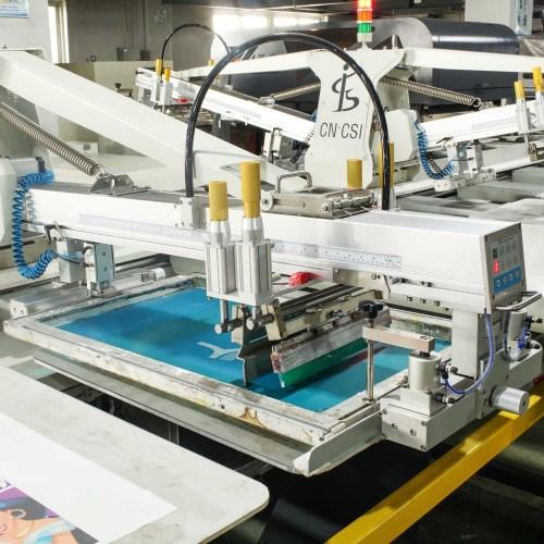 oval printing machine with digital printer