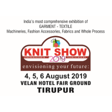 2019 19th Edition India's Most Comprehensive Exhibition of Garment & Textile Industry Knit Show
