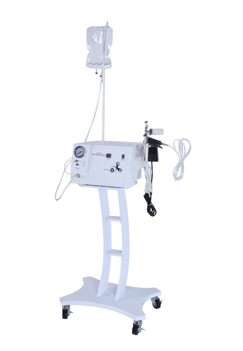 Skin whitening /anti-aging wrinkle /oxygen facial massage machine with oxygen rf ultrasonic