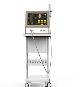 Hifu 3D Высокоинтенсивный сфокусированный ультразвуковой аппарат для лица против морщин Подтяжка кожи