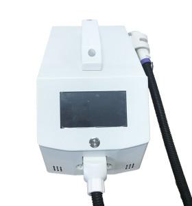 Máquina láser de piel IPL portátil para depilación y rejuvenecimiento de la piel.