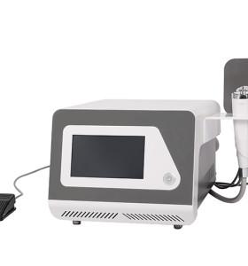 Oro RF micro-aguja RF aislamiento aguja acné instrumento martillo de hielo 3 en 1 equipo de belleza