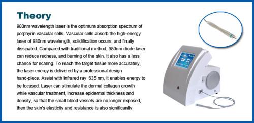 Professional portable 980nm medical diode laser