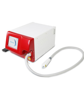 Máquina de belleza de depilación permanente con diodo láser acoplado a fibra de 808 nm