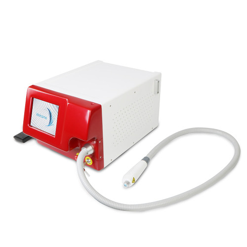 Professional portable 808nm fiber coupled laser diode permanent hair removal beauty machine