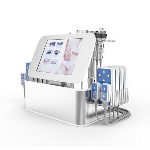 Professional portable 40Khz Ultrasonic Cavitation+vacuum Massage+bipolar Rf Lipo Laser