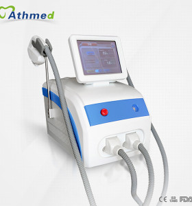 Professional portable 2in1 powerful portable ipl shr hair removal K3