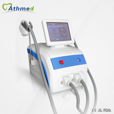 2in1 powerful portable ipl shr hair removal from Beijing Athmed K3