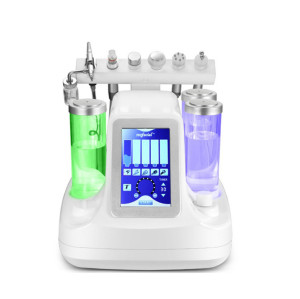 7 in 1 Microdermabrasion Water injector home oxygen facial machine