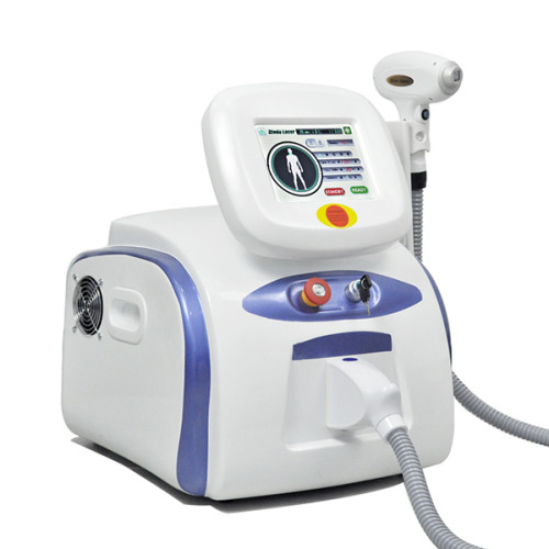 Professional portable 3 wavelength laser hair removals