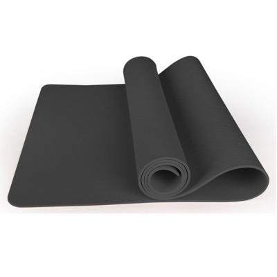 Прочный двухсторонний нескользящий водонепроницаемый и моющийся фитнес-коврик для йоги, спортивный резиновый коврик