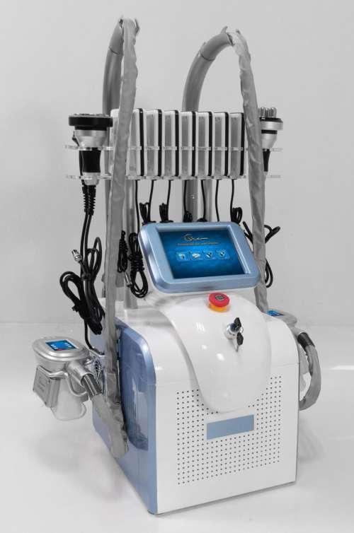 360 Surrounding Multi Function cryolipolysis Laser 40k Cavitation Body Slimming Face RF Beauty Machine For Salon Use