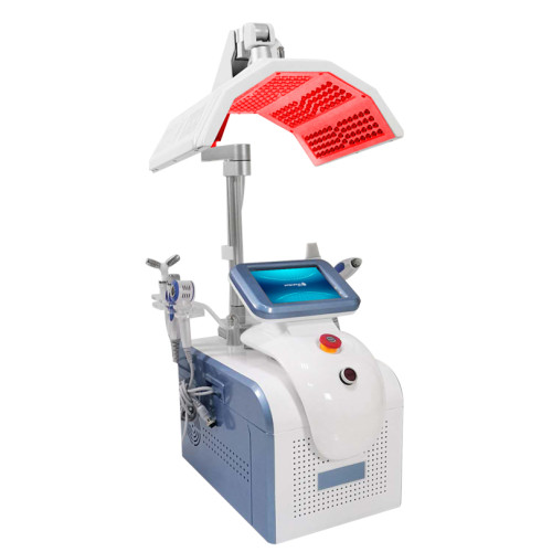 6 in 1 PDT RF BIO COOLING HEAD SCRUBBER SPRAY HANDLE photodynamic beauty machine