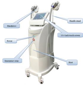 Аппарат для эпиляции HR FHR SR FSR OPT ipl для салона