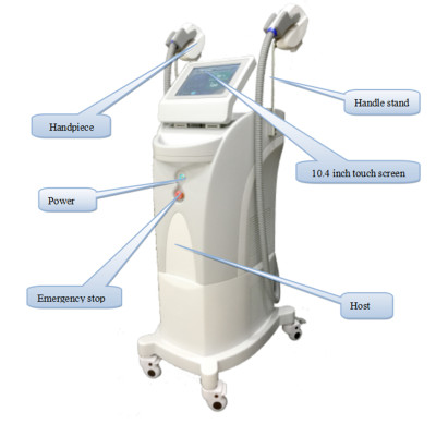 Máquina de depilación HR FHR SR FSR OPT ipl para salón