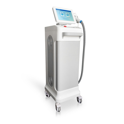 808nm High end Can run continuously machine Permanent no pain hair removal machine