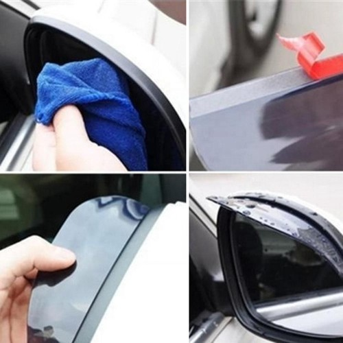 Rearview Mirror Hood Shell Injection Molding Parts Plastic Auto Automotive Parts Components