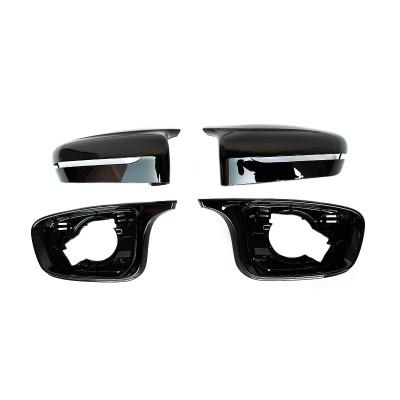 Automotive Rearview Mirror Frame Cover Injection Molding Plastic Parts Auto Automotive Parts