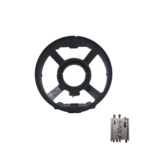 Auto Car Plastic Steering Wheel Accessories Shell Injection Molding Plastic Parts
