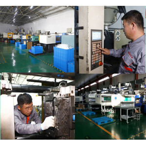 Customized electronic component auto parts plastic injection molding parts suppliers