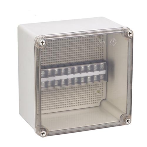 Junction box electronics components plastic mould part