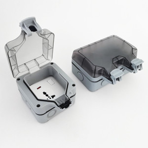 Haixin electronic junction box components injection moulded plastic