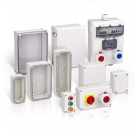Haixin electronic junction box components factory plastic mould
