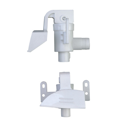 Plastic buckle dispenser box plastic injection mould parts