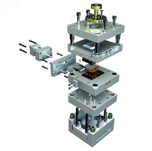 OEM Injection Moulding Products Plastic Electronics Case