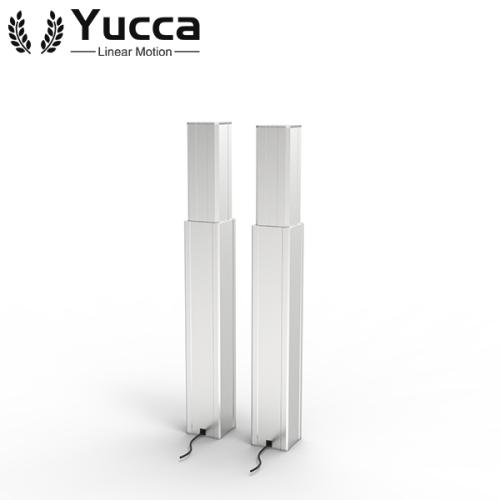 New adjustable 24V slim electric telescopic table lifting column 200mm