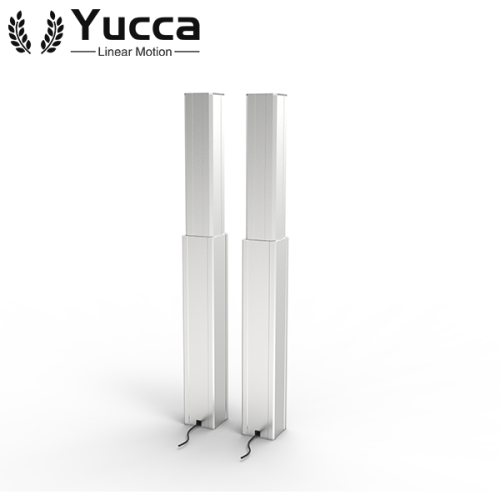 Synchronous adjustable aluminum electric table lifting column with controller